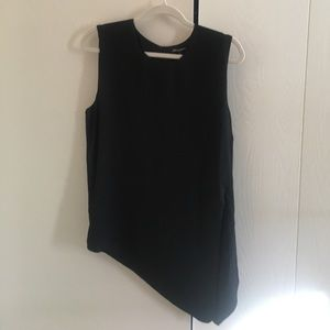 Tops - Black tank blouse